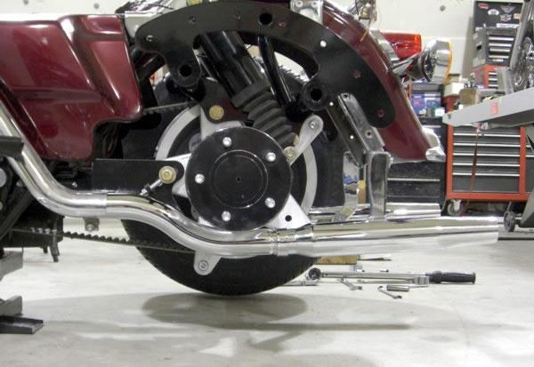 Frankenstein Trike Kit Fl Exhaust: Harley Trike Exhaust At Woreks.co