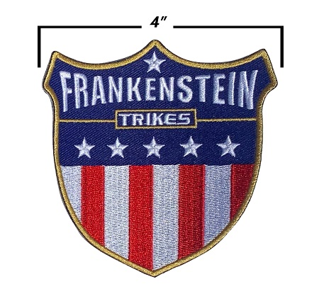 Frankenstein Trikes T-Shirt Womens