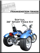 H-D Softail trike conversion install manual